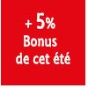 5% bonus